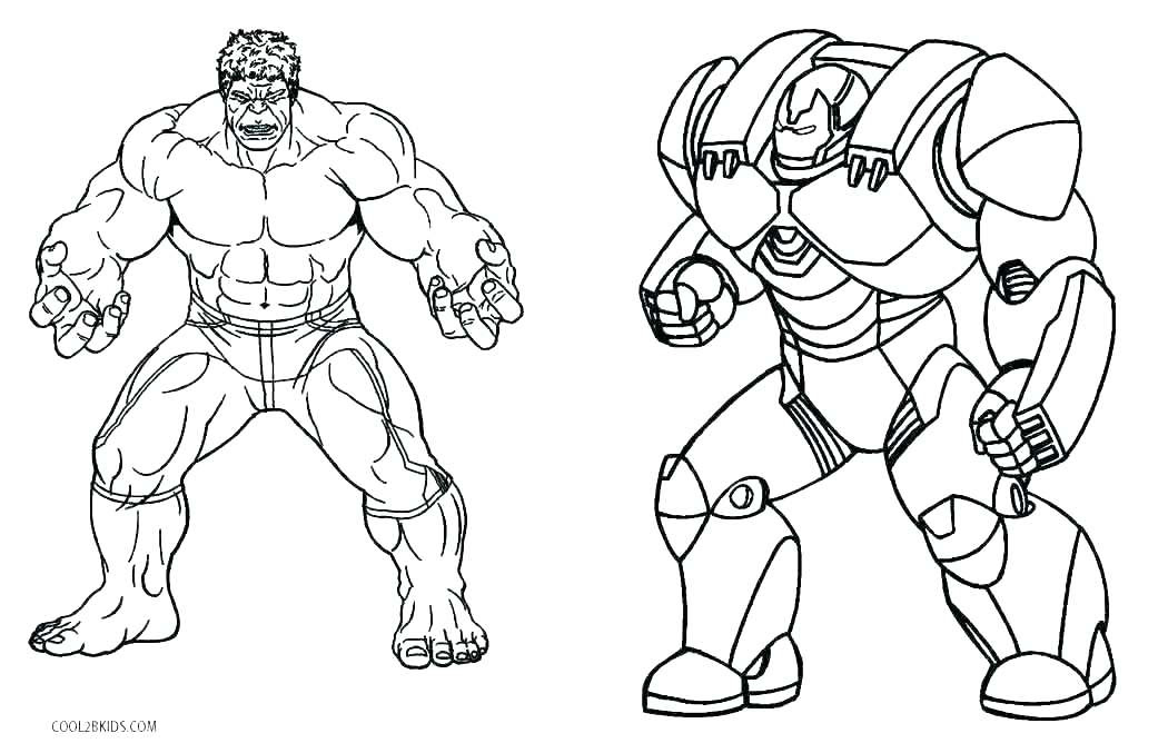 Coloring Pages For Boys Hulk - Coloring And Drawing