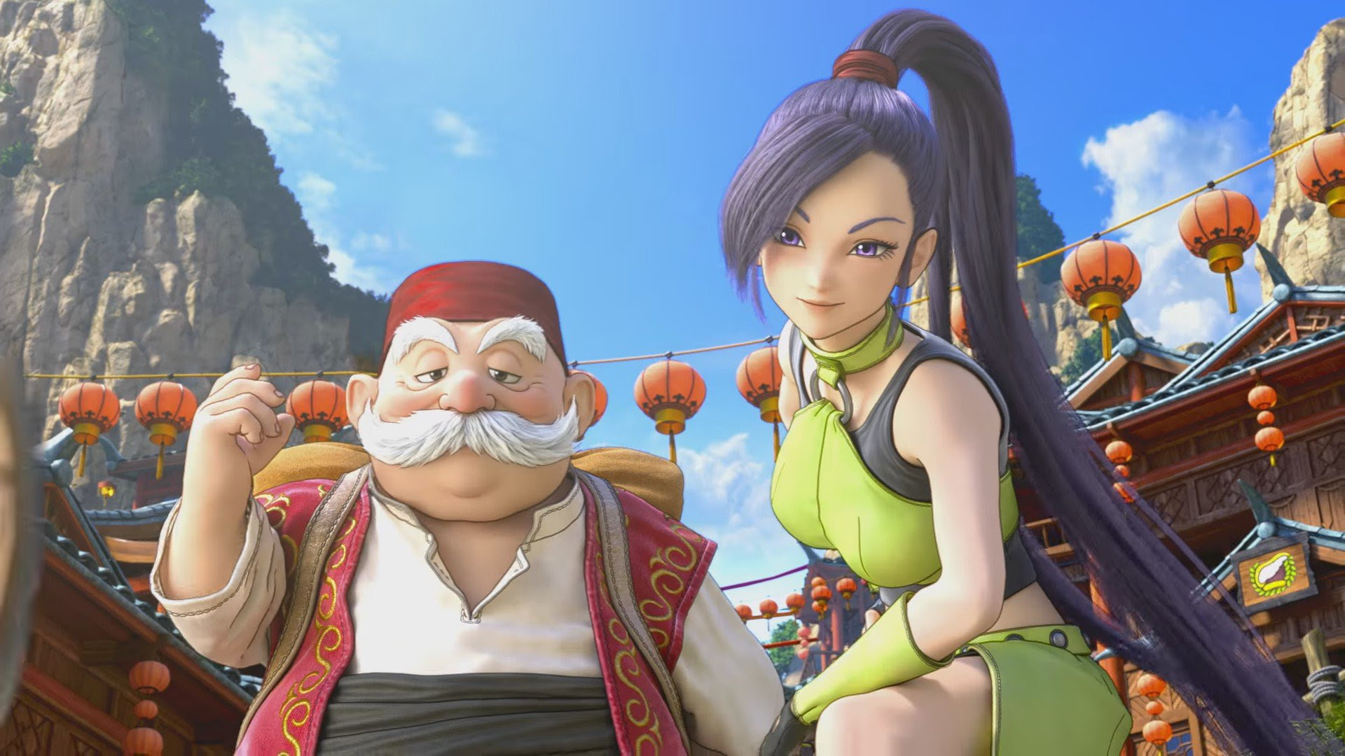 Dragon Quest XI's opening video is out, on the cusp of its 3DS/PS4 launch screenshot