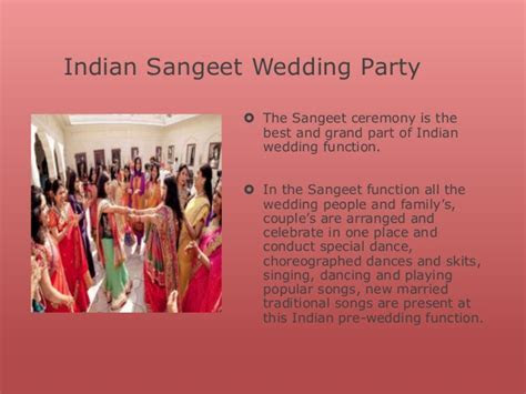 Sangeet function during Wedding Ceremony