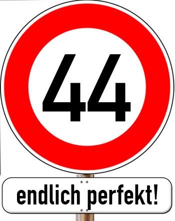 44 Geburtstag Glückwünsche