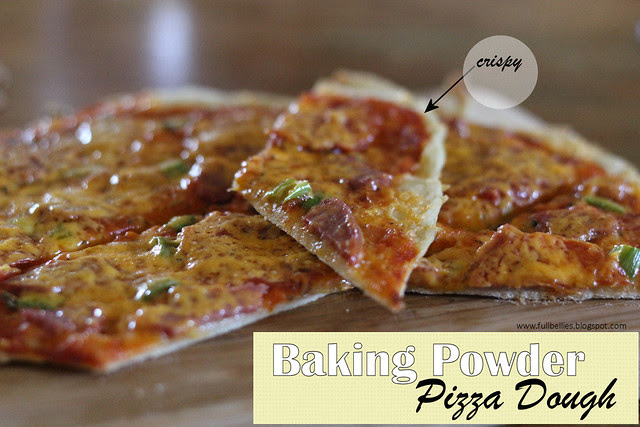 Baking Powder Pizza Dough