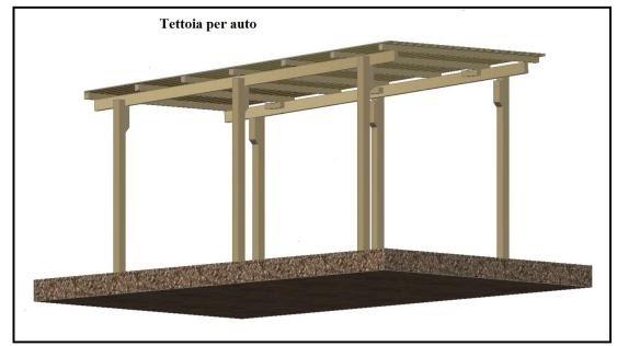 mobili lavelli tettoia in legno per auto fai da te