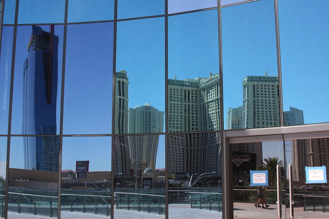 reflected, harmon hotel