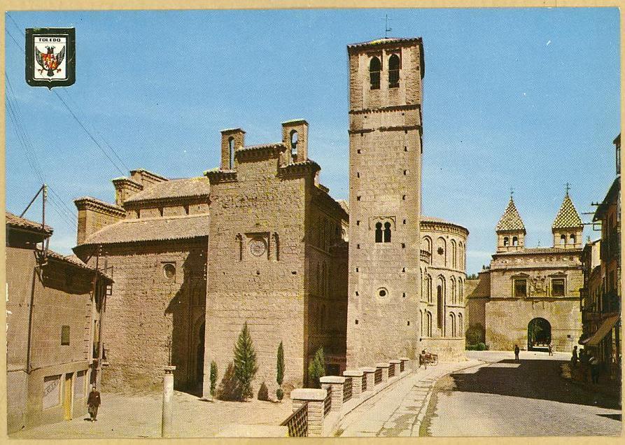 Iglesia de Santiago del Arrabal a mediados del siglo XX