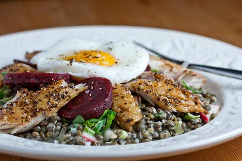 Lentil and Mackerel Salad-1