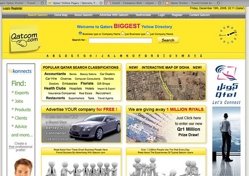 A Yellow Pages for Qatar