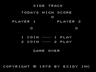 Exidy Side Trak Screenshot