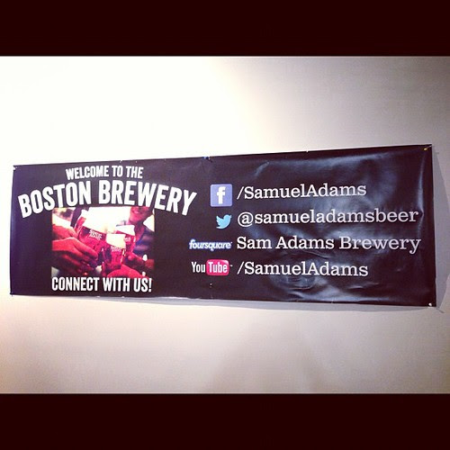 THAT is how you list your social media outposts. Good job @samueladamsbeer by stevegarfield