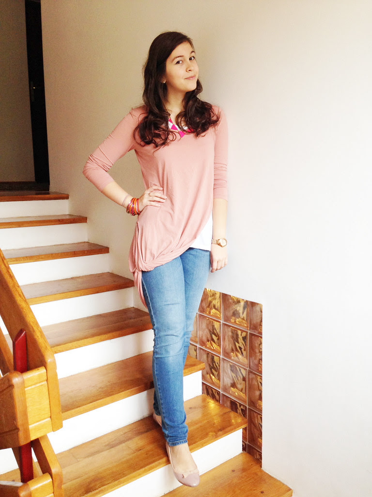 Blush pink outfit Mary Manaila 11