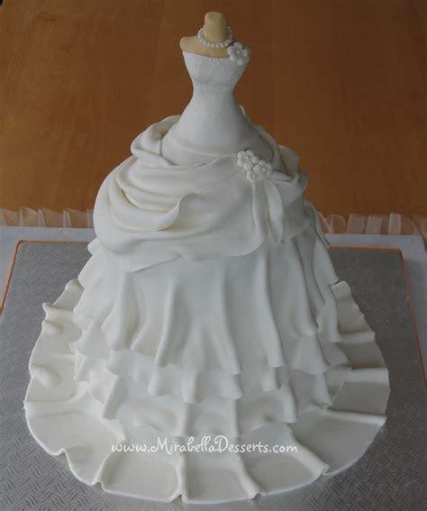 Wedding Dress Cake   CakeCentral.com