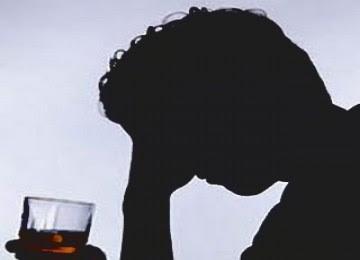 Alkohol. Ilustrasi