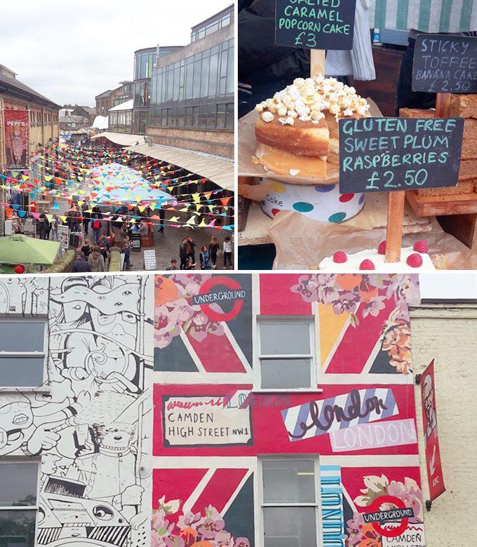 Camden Market, London, Märkte,