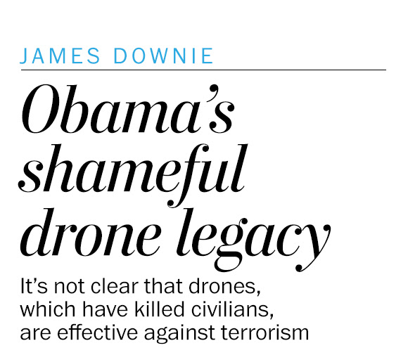 Obama's drone war is a shameful part of his legacy