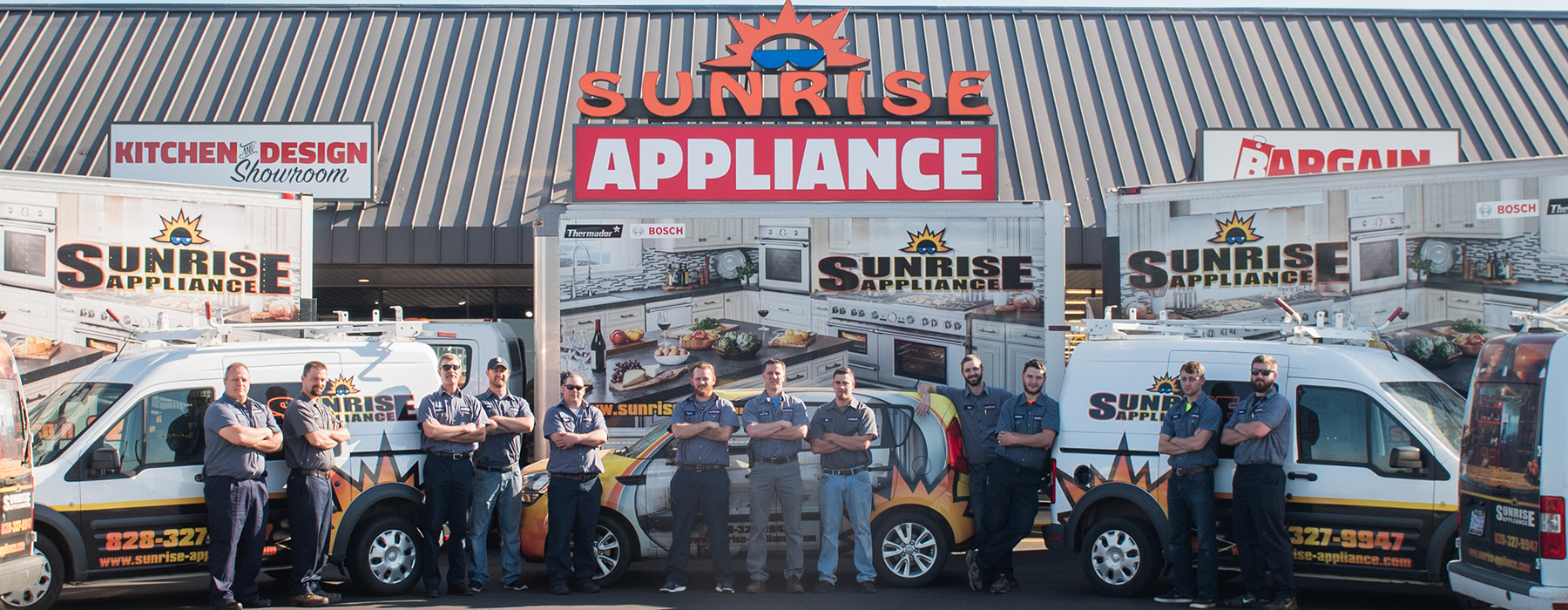 Sunrise Appliance About Us Appliances Hickory Nc 28602 And