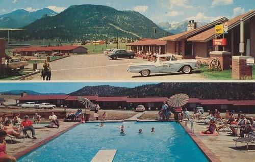 Wish You Were Hear Lake Estes Motel Estes Park Colorado