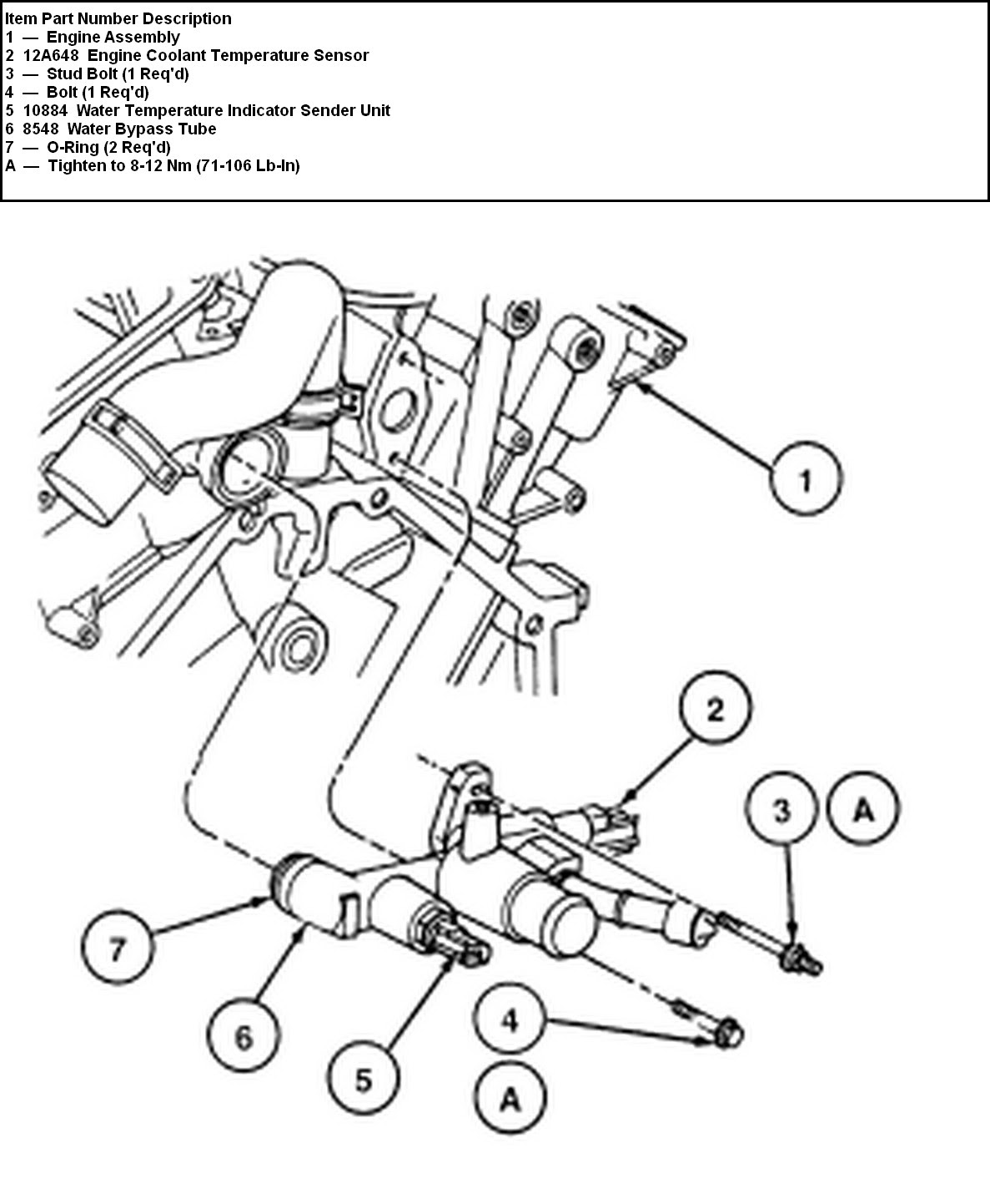 2003 Ford Focu Engine Diagram