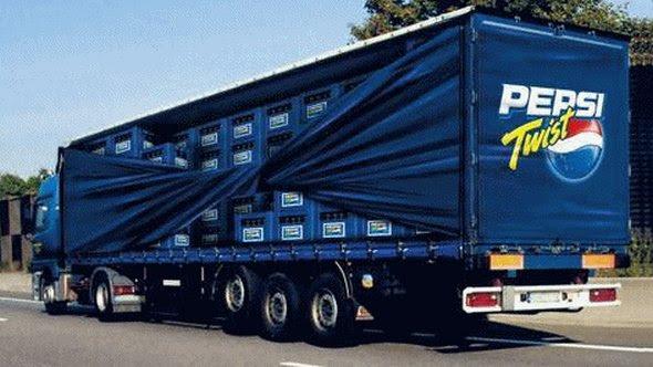 truck ad designs 04 in Funny 3D Truck Ad Designs