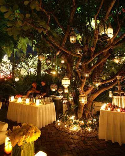 Enchanted forest wedding reception idea. www
