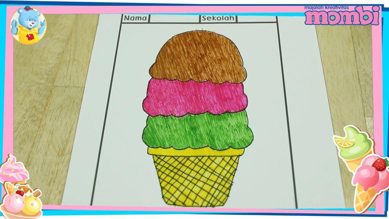 Yuk Ajari Si Kecil Menggambar Dan Mewarnai Es Krim Di Rumah Semua Halaman Nakita