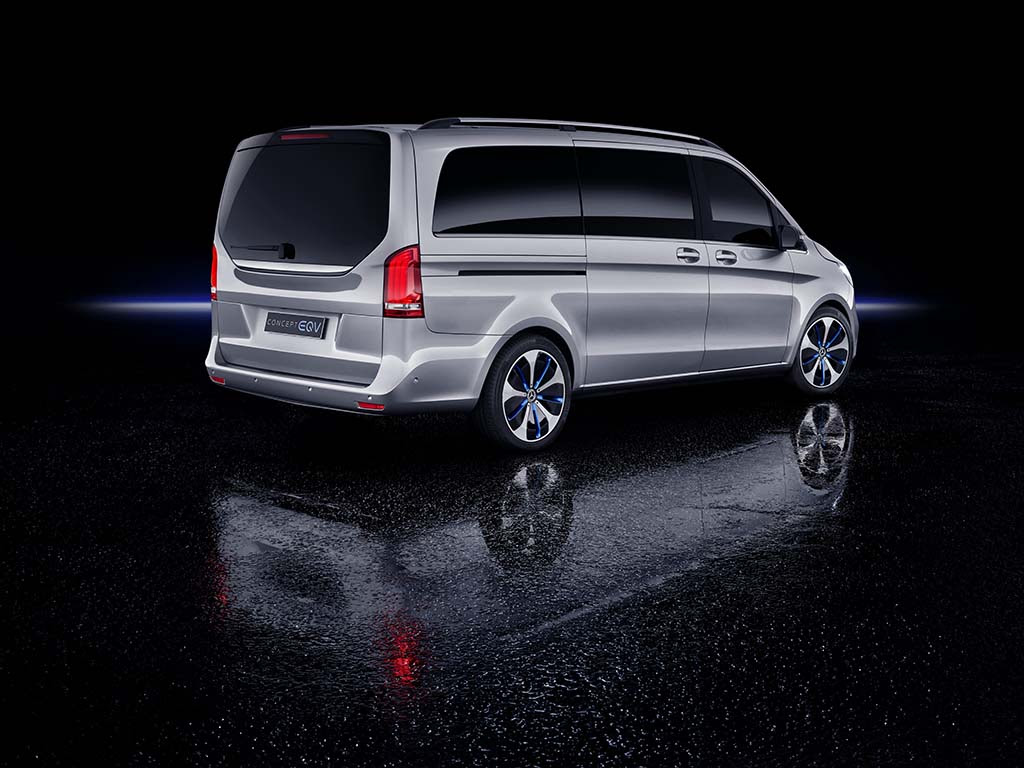 Mercedes-Benz Concept EQV is a Near Production-Ready ...