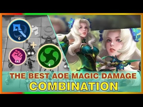 THE BEST AOE MAGIC DAMAGE WITH INSANE 3 STAR ODETTE | NEW UPDATE MAGICCHESS STRATEGY | MRL GAMING