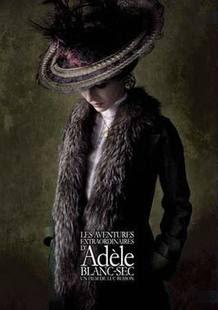 Cartel de la película 'Adèle y èl misterio de la momia'