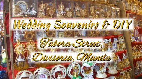 Wedding Souvenir & Giveaways: Tabora Street, Divisoria
