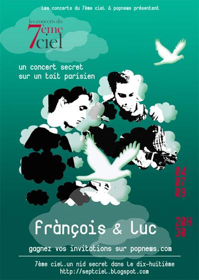 7Ciel François et Luc FLYER562X400