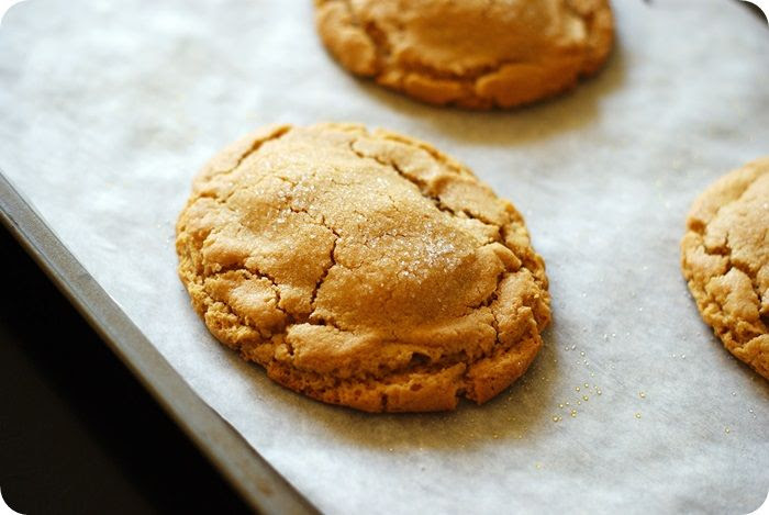Reese's peanut butter egg-stuffed peanut butter cookies!!!