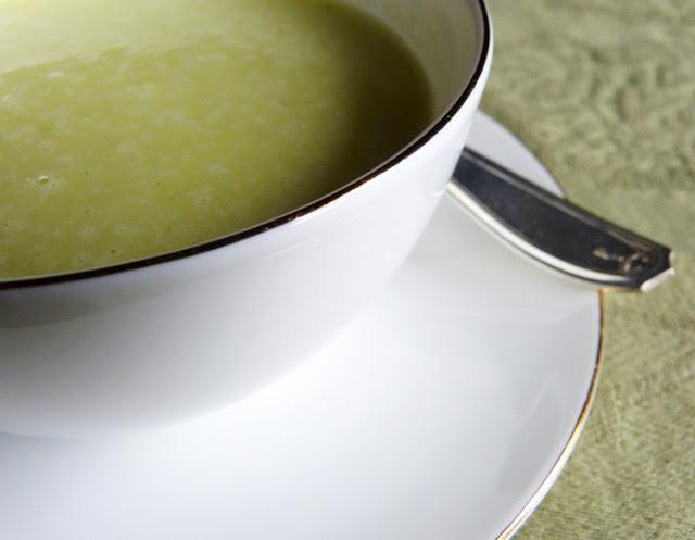 Leek, Onion and Potato Soup