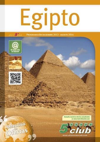 Viajes a Egipto Primavera Verano 2014