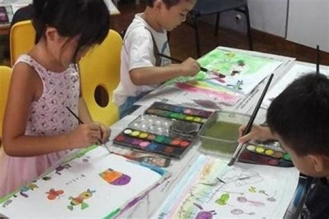 cartoon fun art class drawing classes  singapore