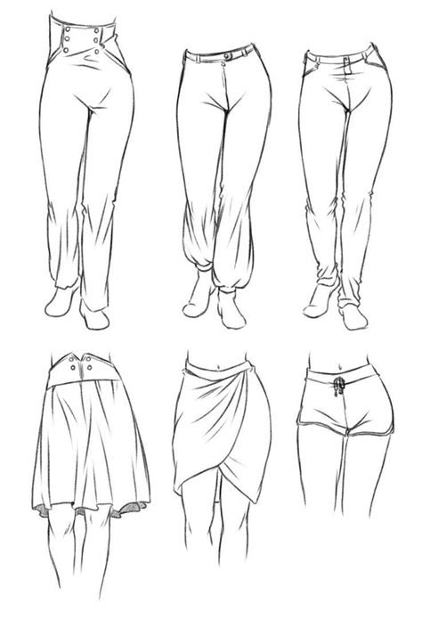 drawing anime clothes   drawing clothes ideas
