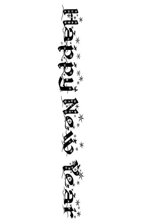 Disegno Da Colorare Felice Anno Nuovo Cat 20238