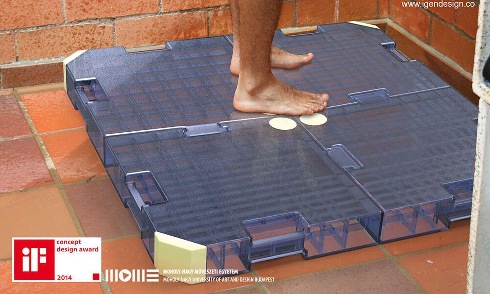 Produto capaz de reaproveitar 95% da água usada no banho chega ao mercado