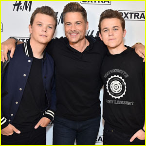 Rob Lowe & Sons Have 'Varying Levels of Skepticism' on 'The Lowe Files'