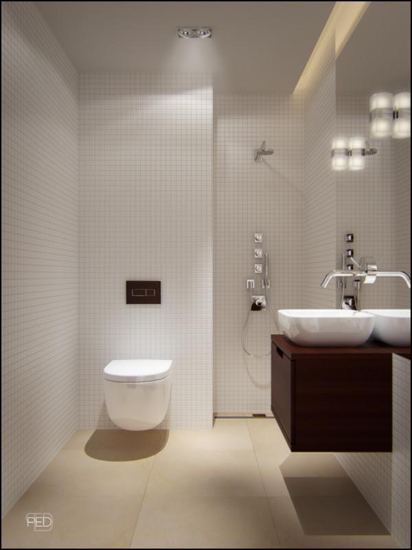 Stylish design ideas for the small bathroom