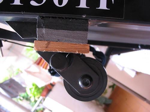 Modificação amortecedores esteira Kikos TS1501F -5