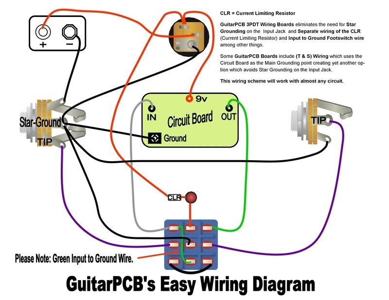 Wiring Diagram Guitar Amp Footswitch