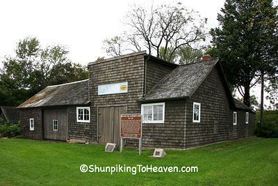 Matthew Edel Blacksmith Shop (1883) and Auto Service Garage, Marshall County, Iowa