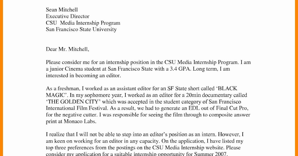 sample letter of qualifications