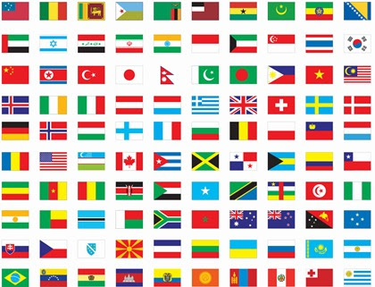 world map vector free download. Free Vector Flags of The World