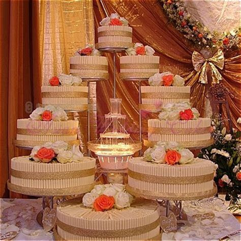 Wedding Cakes With Fountains Ideas