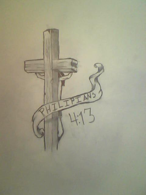 Tattoos Image Philippians 4 13 Tattoo