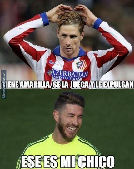 Niño Torres y Sergio Ramos