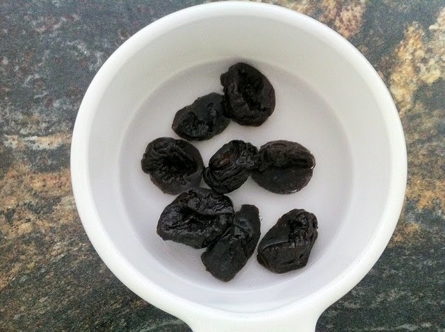 Water Added to Prunes