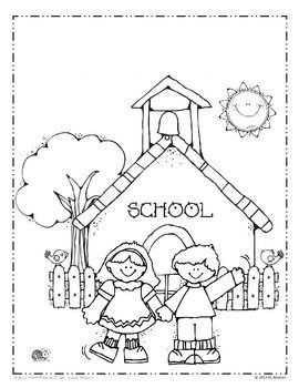 Okul Boyama Sayfasi 1 Okul öncesi Etkinlik Faliyetleri