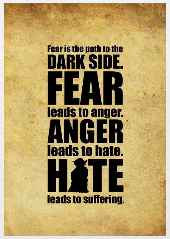 Quotes About Fear And Hate 147 Quotes