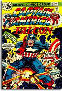 Captain American #197