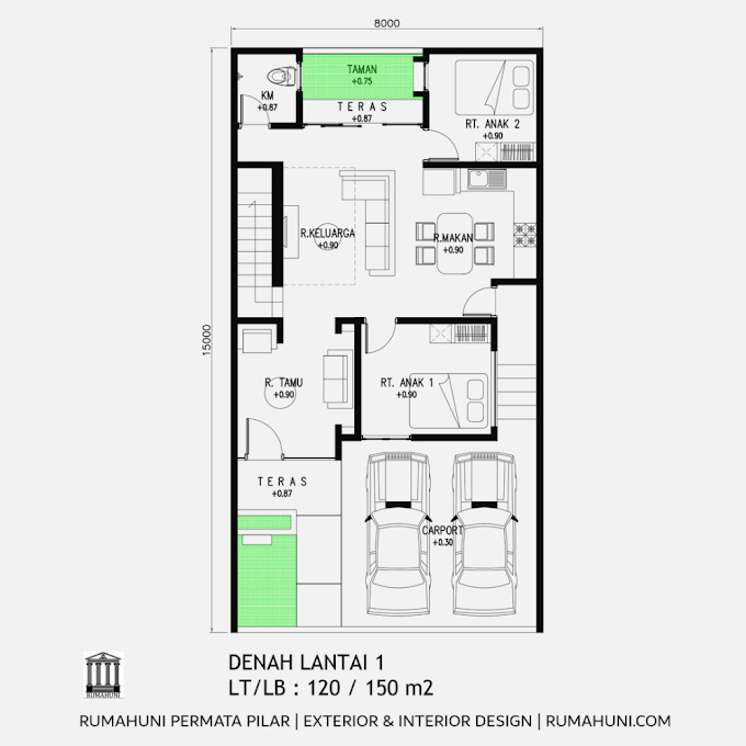 Pilar Rumah Minimalis Sederhana   Ide Rumah Minimalis